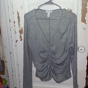 Forever 21 Rippled Sweater